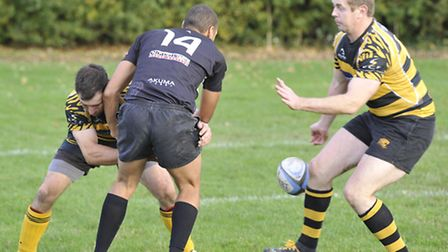 Ely Tigers Rugby action