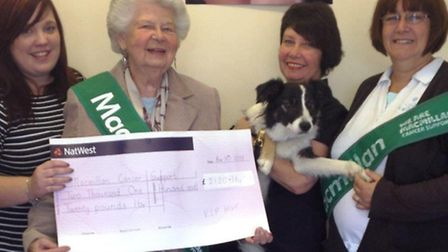 VIP Hair raised more than £2,000 from their World's Biggest Coffee Morning event