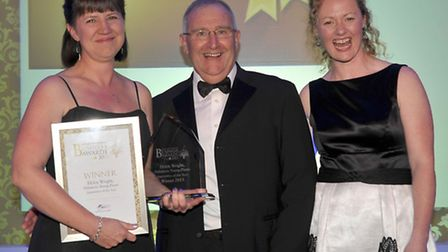 Fenland Enterprise Business Awards 2013. Apprentice of the Year, Helen Wright Delamore Young Plants