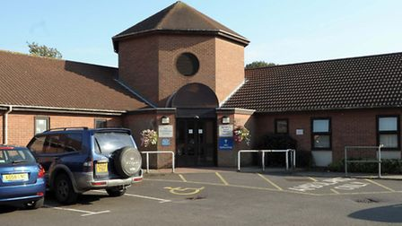 Macmillan and Hudson Palliative Care Centre.at the North Cambs Hospital, Wisbech.