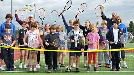 Wisbech Tennis Club hosted a Tennis Taster session for all Juniors aged between 8 and 15.