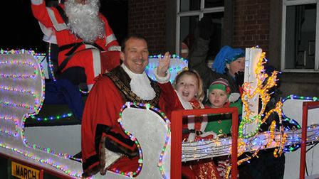 March Christmas Lights Switch on 2013. Picture: Steve Williams.