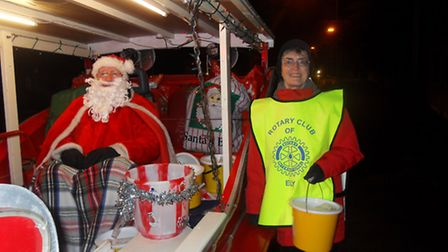 Santa will once again be touring the streets of Ely