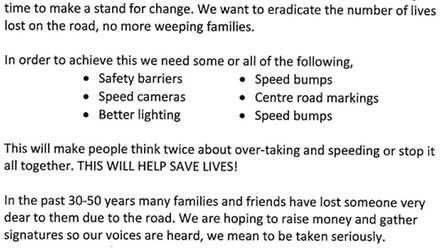 North Bank Petition