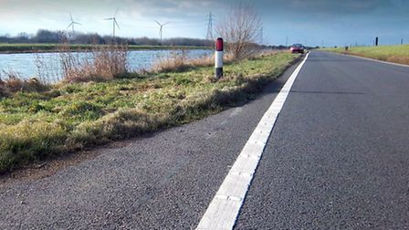 The North Bank Road, near Whittlesey