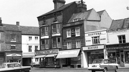 A photo of Wisbech Market Place taken about 40 years ago.