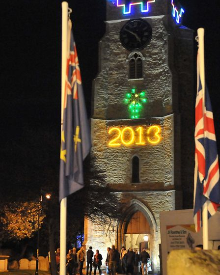 Chatteris Christmas Lights switch on 2013. Picture: Steve Williams.