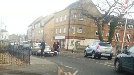 Moped collision in March