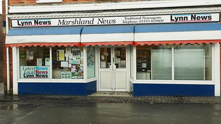A shop worker at Marshland News, in Marshland Street, Terrington St Clement was threatened with a ki