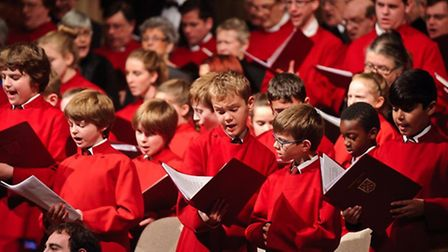 Peterborough cathedral choir, youth choir and festival chorus will perform The Messiah.