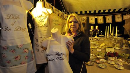 Ely Cathedral Food & Gift Fair, Theresa Hengle, from Lovetocreate, Cambridge