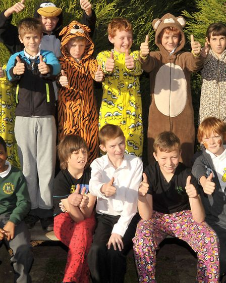 New Road School Whittlesey. Pyjama Day for Children in Need.