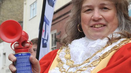 The mayor of Ely, Cllr Elaine Griffin-Singh