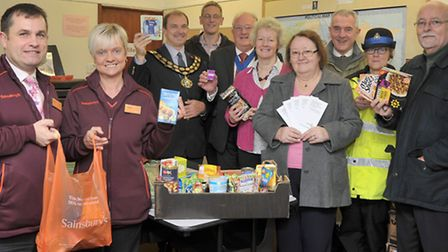 March Foodbank Opening at the Power House Church.