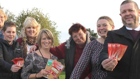 County Councillor Martin Curtis, Volunteers and partners celebrate time credits scheme