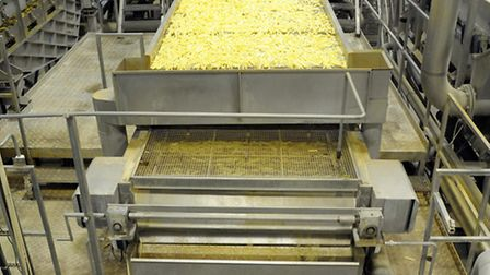 The production line at Lamb Weston, Wisbech.