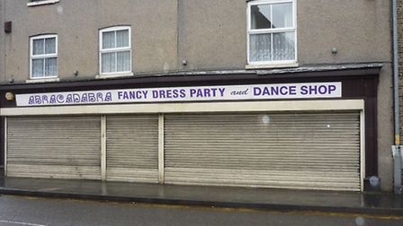 March: Where a former party shop is to become an undertaker's