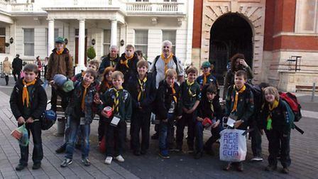 Cubs from Witchford and Haddenham enjoyed a trip to London