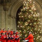 Ely Cathedral choir at Christmas