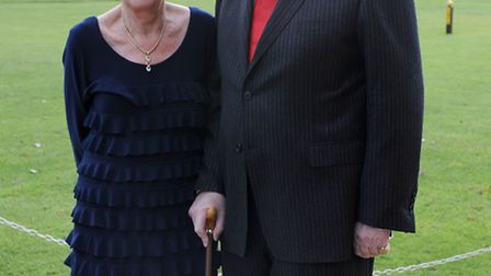 Mr &Mrs H.J.Papworth celebrated their diamond wedding anniversary at March Golf Club. Picture: Rob M