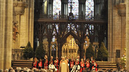 Papworth Hospital Charity Carol Service at Ely Cathedral,