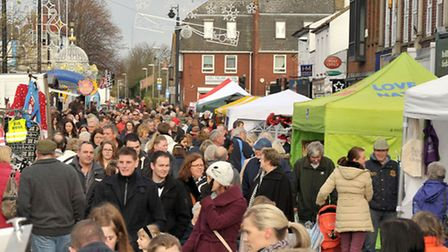 March Christmas Market. Picture: Steve Williams.