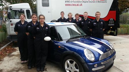 Isle Campus students launch a Mini racing team
