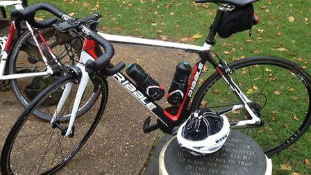 Ian Smith's stolen Ribble road bike is identical to this