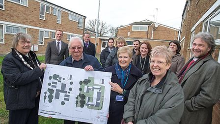 work on a new shelter for the homeless at Waterbeach gets underway