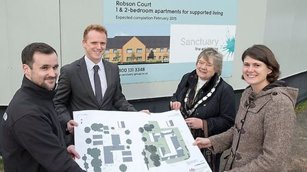 Work on a new shelter for the homeless gets underway in Waterbeach