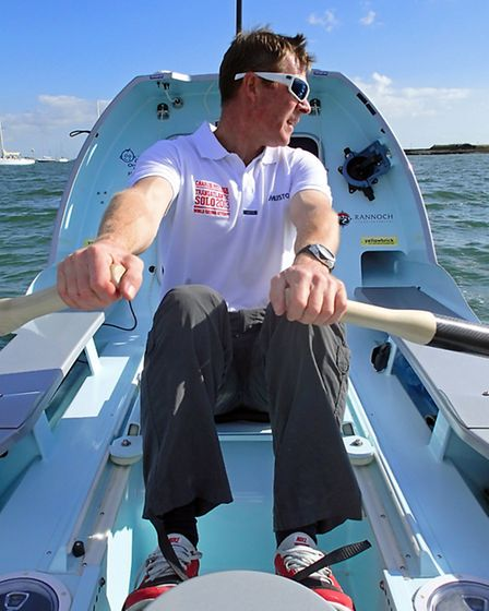 Felsted's Charlie Pitcher became the fastest ever man to row across the Atlantic.