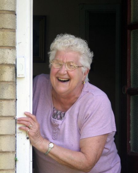 Janet Whelans picture called Treasure the Laughter, which portrayed the work of the Care Network, wa