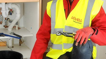 Billy Smith, from Upwell in Norfolk, has secured a plumbing apprenticeship with local housing regene