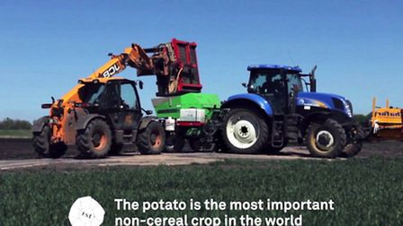Isle of Ely Produce has produced a video showing the journey of a potato from the field to the chip