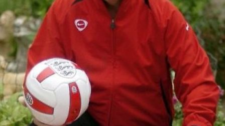 Roy McManus sent equipment to a team named in his honour in Togo