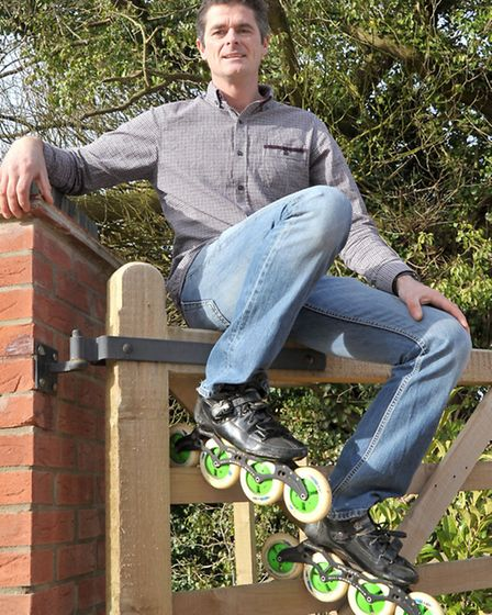 Michael McInerney is re-opening Skaters in Walpole Highway Wisbech. Picture: Steve Williams.