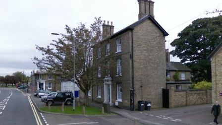 The property in St Mary's Street that is subject of the application