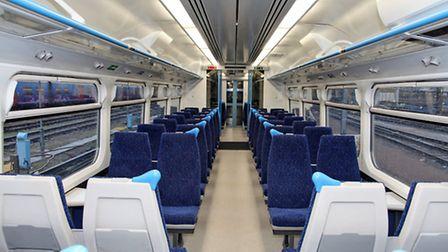 The upgrade o 40 of the most frequently used 365 Capital Connect Trains includes modernsed fittings