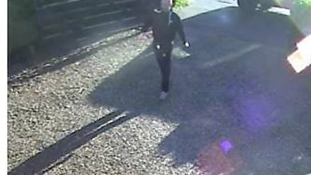 The man police would like to speak to in connection with several incidents in Reach