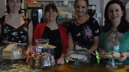 Scrumptious Tearooms could be named Britain's Friendliest Business with your help