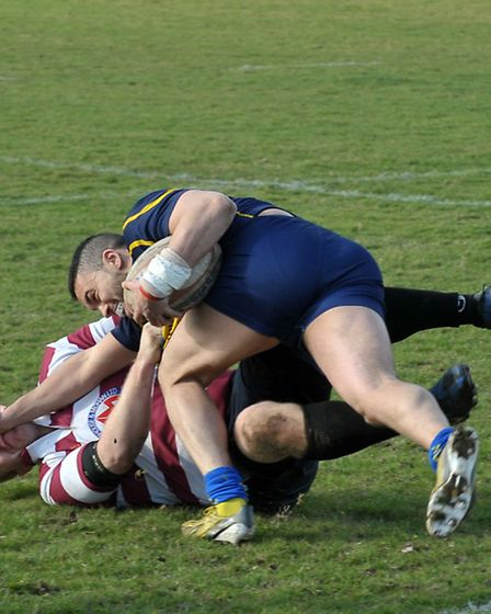 March Bears rugby v Invitation side. Picture: Steve Williams.