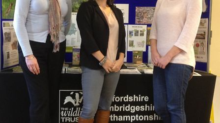 The Emerals Frog team celebrate their Wildlife Trust campaign