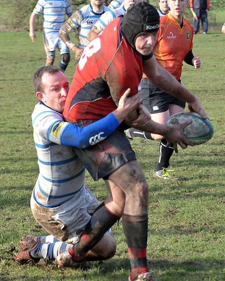 Wisbech Rugby v Brentwoods. Picture: Steve Williams.