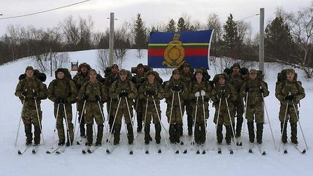 The Royal Marines in Northern Norway.