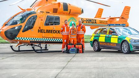 Magpas were called to the scene at Huntingdon Tesco