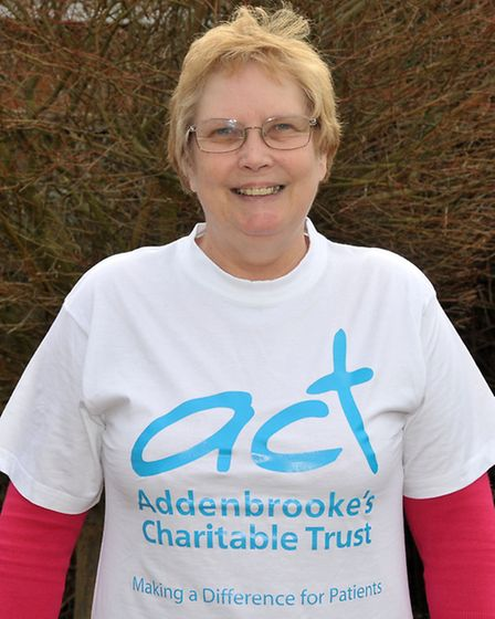 Jackie Read Sky Dive for charity. Picture: Steve Williams.
