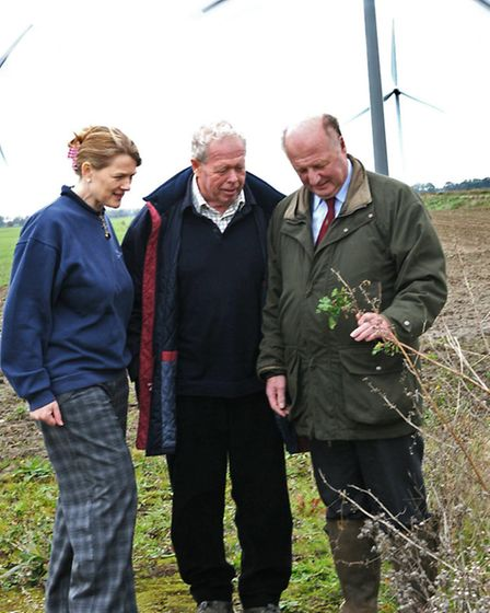 Christine Tacon, Managing Director of Co-operative Farms, Poul Christensen, Chair of Natural England