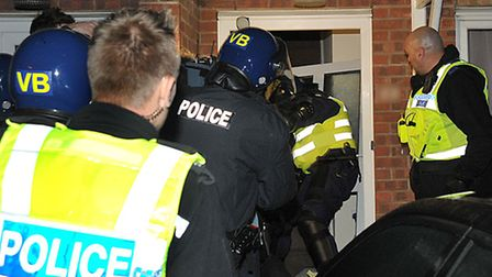 Police and partner agencies carried out raids for Operation Endeavour in October.