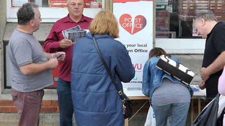 Wisbech Post office closure petition.