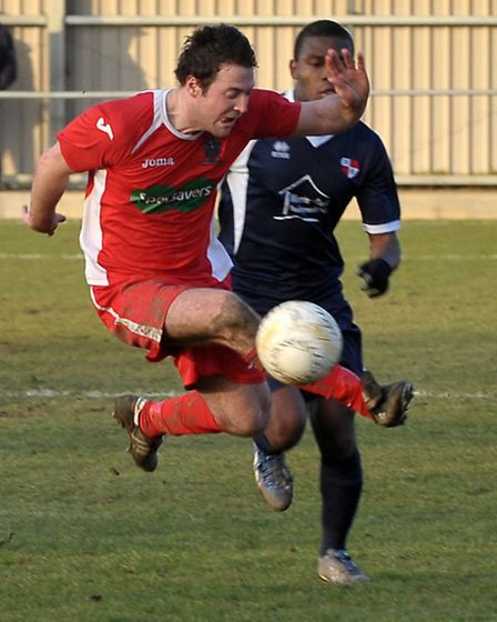 Wisbech football v Northampton Sileby Rangers. Picture: Steve Williams.
